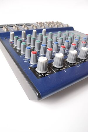 A the mixing board of preamp from the bottom.