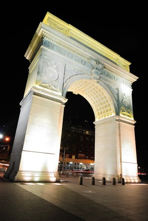 Washington Square Arch. Stock Photo - 7440589