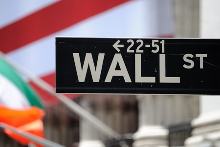The historic Wall Street in New York York City. July 12, 2010. Stock Photo - 7440519