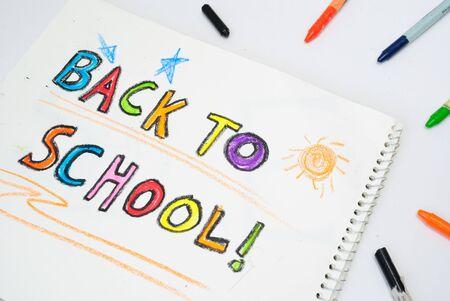 Back to School crayon