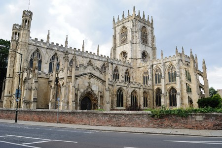 mary's: St. Marys Church in Beverley, England. Stock Photo