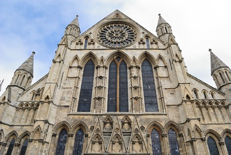 Historical York Minster in York, England. Stock Photo - 7609145