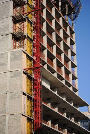 gentrification: A building under construction