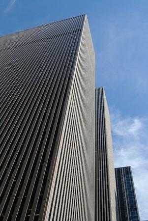 mcgraw: New York City Skyscrapers Stock Photo