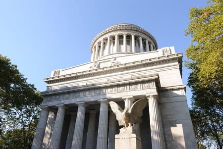 ulysses s  grant: Grants Tomb in New York City. Stock Photo