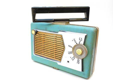 an antique radio 版權商用圖片
