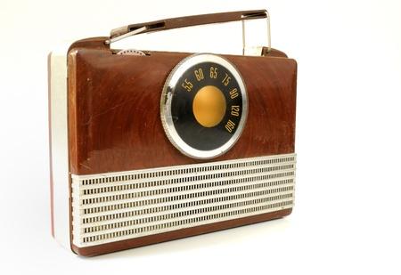 Vintage radio. photo