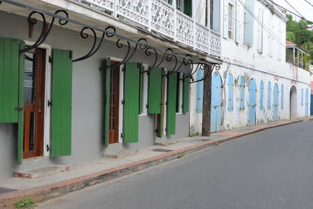 Shop fronts in the caribbean Stock Photo - 8552158