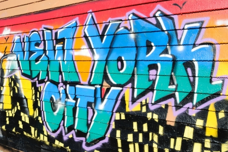 Five Pointz, considered a graffiti mecca in Queens New York City, is an outdoor exhibit space featuring numerous graffiti artists.October 7, 2010.