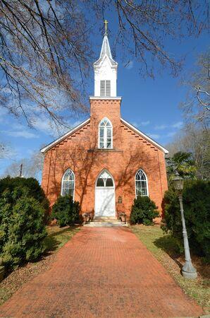 Historic Antebellum church in Madison, Georgia. Stock Photo - 9094594