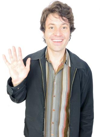 waving guy