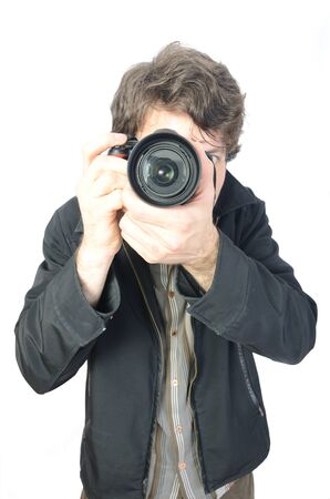 a photographer and his camera photo