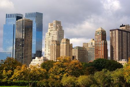 Columbus Circle Skyscrapers in New York City