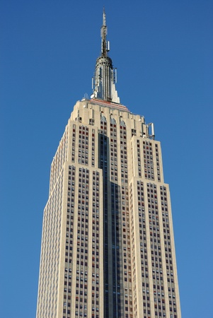 New York City - September 5, 2010: Empire state building in New York City. Stock Photo - 9433739