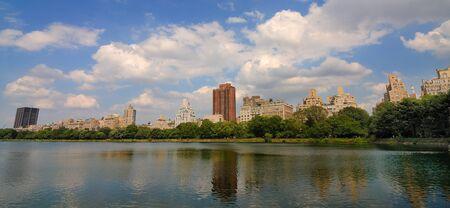 Jackie Kennedy Onasis Resevoir in new york city. Stock Photo