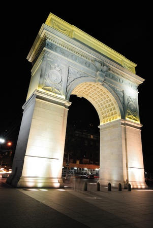 Washington Square Arch. photo
