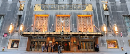 luxuries: The luxurious Waldorf-Astoria hotel in New York City September 5, 2010.