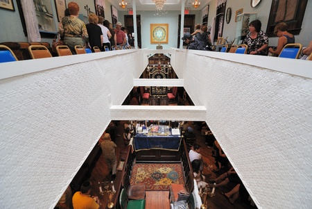 NEW YORK CITY - JUNE 6, 2010: Kehila Kedosha Janina is the the only Romaniote synagogue in operation in the entire Western Hemisphere June 6, 2010 in New York, NY.