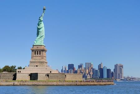 liberty island: La Statua della Libert� su Liberty Island.