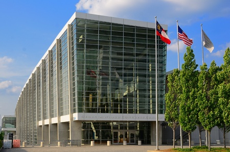 Atlanta, Georgia - May 11, 2011:  Georgia World Congress Center is the largest convention center in Atlanta and the 4th largest in the United States. Stock Photo - 9561576