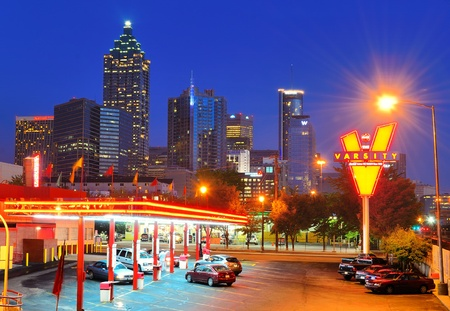 Atlanta, Georgia - May 11, 2011: The iconic fast food restaurant