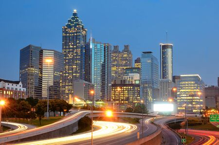 Skyline of Downtown Atlanta, Georgia, USA photo