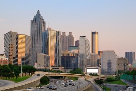 Atlanta, Georgia, USA Skyline