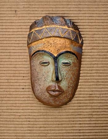 maschera tribale: Antique maschera tribale