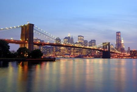 brooklyn bridge in new york city photo