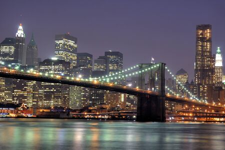 brooklyn bridge in new york city Stock Photo - 9865573