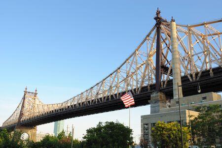 queensboro bridge: Queensboro Bridge seen from roosevelt island in New York City
