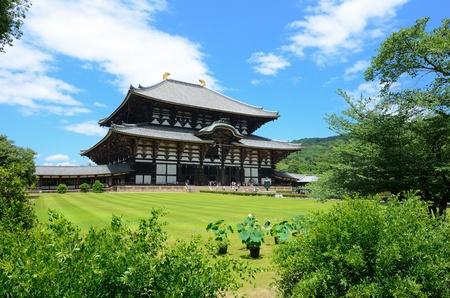 todaiji: Exterior of Todaiji, the world