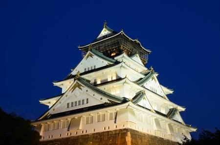Osaka Castle in Osaka, Japan. 版權商用圖片 - 10051815