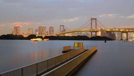 rainbow bridge: Rainbow Bridge in Tokyo without it