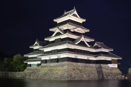 The historic Matsumoto Castle dating from the 15th Century in Matsumoto, Japan. Stock Photo - 10051819