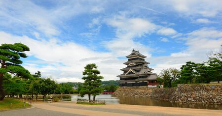 The historic Matsumoto Castle dating from the 15th Century in Matsumoto, Japan. Stock Photo - 10067466