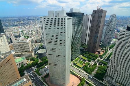 Skyscrapers in Shinjuku, Tokyo, Japan.