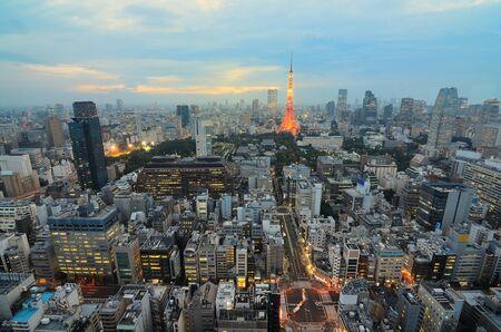 tokyo japan: Tokyo Tower Stock Photo