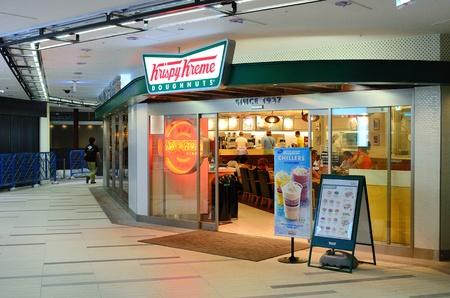 Tokyo, Japan - July 5th, 2011: Krispy Kreme Doughnuts in Shibuya, Tokyo, Japan. Stock Photo - 10303425