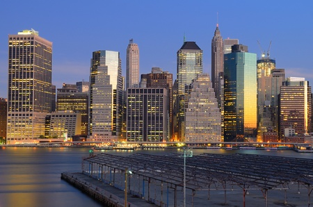 Lower Manhattan Stock Photo - 10444554