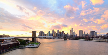 View of Downtown New York City  Stock Photo - 10483833