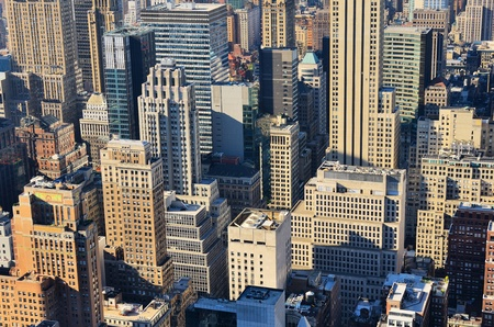 View of midtown Manhattan buildings in New York City. Stock Photo - 10483849