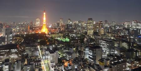 Mit fast 35 Millionen Menschen, Tokio, Japan ist die Welt