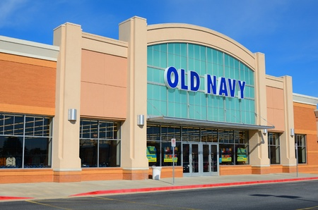 ATHENS, GEORGIA - SEPTEMBER 8: Old Navy is a clothing brand owned by Gap Inc. September 8, 2011 in Athens, GA. It was the first corporation to be headquartered in Mission Bay district, San Francisco. Stock Photo - 10580942