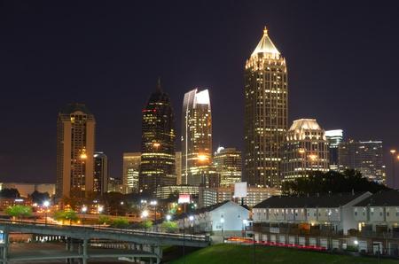 Skyscrapers in Midtown Atlanta, Georgia, USA. photo