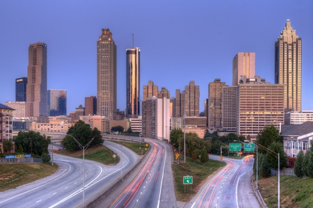 ATLANTA, GA - SEPTMEBER 12: Atlanta is a top business city with the countrys third largest concentration of Fortune 500 companies September 12, 2011 in Atlanta, GA.