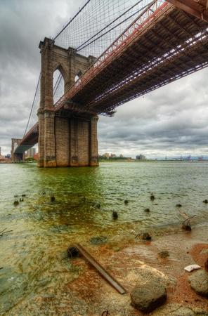 brooklyn bridge: Brooklyn Bridge in New York City.