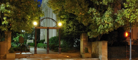night school: The arch at the University of Georgia