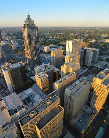 Skyscrapers in downtown Atlanta, Georgia. Stock Photo - 10833594