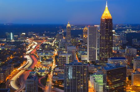 SKyline of Atlanta, Georgia Stock Photo - 10833600